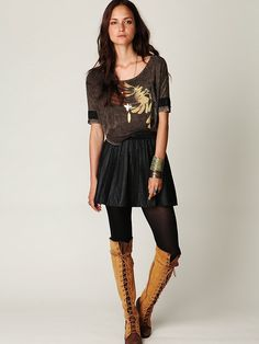 Jeffrey Campbell + Free People Two Tone Joe Lace Up Boot at Free People Clothing Boutique