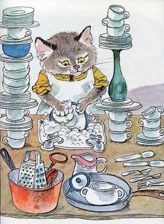 Richard Scarry illustration | eBay