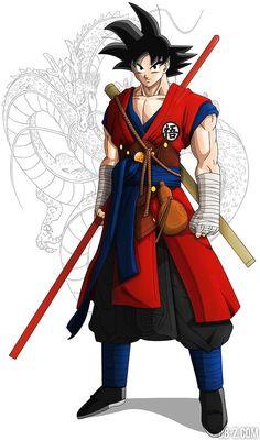 Goku-Monk-fanart-739x1255.jpg (739×1255)