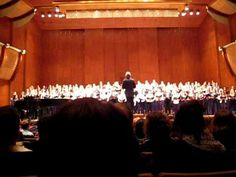 Eric Whitacre conducting three high school choirs chosen to sing his music at Avery Fisher Hall in NYC. LUX AURUMQUE is gorgeous. Whitacre is amazing choral composer. Opportunity of a life time for my son.