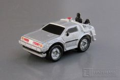 BACK TO THE FUTURE- MICROMACHINES' DELOREAN TIME MACHINE by Galoob | Flickr - Photo Sharing!