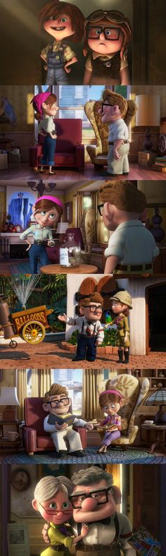Carl & Ellie (Up)