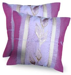 Amazon.com - 2 BEAUTIFUL AND GREAT DECORATIVE ITEM ON YOUR SOFA OR LIVING ROOM - Pillowcases