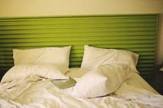 Corrugated tin headboard <3