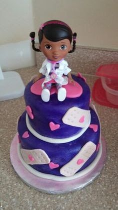 doctor mcstuffins cake - Google Search