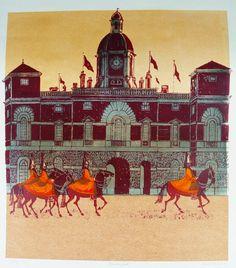 Horseguards Parade - Robert Tavener, printmaker and illustrator