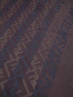 FENDI - print shawl 3