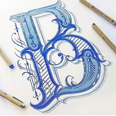 B by @mateuszwitczakdesigns #designspiration #creative #design #lettering - View this on http://ift.tt/1LVCgmr