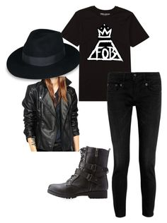 """My Halloween Costume- Patrick Stump"" by keep-calm-and-fandom-on ❤ liked on Polyvore featuring Billabong, R13, Bamboo, women's clothing, women, female, woman, misses and juniors"