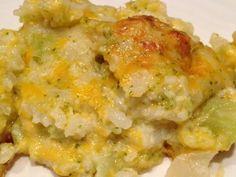 Cauliflower & Broccoli Au Gratin