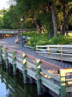 The Boardwalk in Wakamow  Valley, Moose Jaw, SK