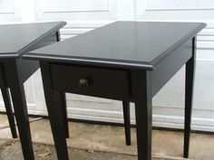 MAKE attractive END TABLES.