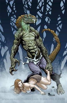 Frank Cho's Apes and Babes art blog and forum with daily Liberty Meadows webcomic