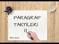 NETLERİ ARTIRACAK PARAGRAF TAKTİKLERİ 1 - YouTube