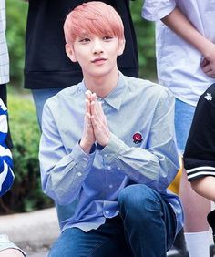Joshua looks like he's about to start begging for some food or something