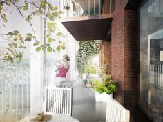 This mixed-use tower in Belgium will help you make friends