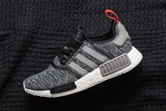 adidas NMD R1 Primeknit in Core Black & Solid Grey - EU Kicks: Sneaker Magazine