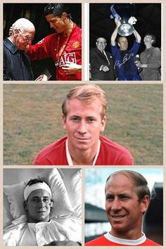 "Bobby Charlton: ""You can have Barcelona, Real Madrid, but nothing compares to the history of Manchester United"" ♥"