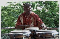 Legendary master percussionist Papo Pepin