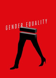 Gender Equality Poster on Behance Feminist Movies, Feminist Art, Creative Posters, Cool Posters, Gender Equality Poster, Teaser Campaign, Peace Poster, Feminist Movement, Gender Inequality
