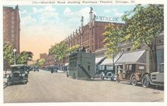 Uptown Chicago History: Pantheon Theatre on Sheridan Road, Chicago