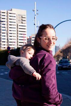 Abrigo de embarazo y porteo Momawo 4 en 1 - Tetatet - Camisetas de Lactancia y Vestidos de Lactancia