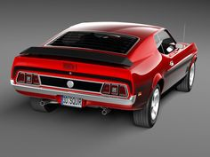 Ford Mustang Mach 1 1971 Model available on Turbo Squid, the world's leading provider of digital models for visualization, films, television, and games. 1971 Mustang Mach 1, Ford Mustang Fastback, Mustang Cars, Shelby Gt500, Ford F250 Diesel, Mustang Restoration, Fox Body Mustang, Chevy Muscle Cars, Classic Mustang