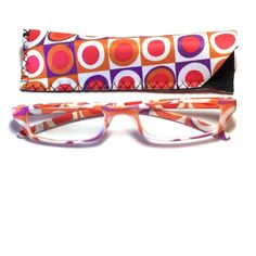 1.75 reading glasses geometric design with case 1.75 reading glasses geometric design with case Accessories Glasses