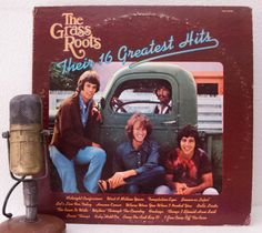 ON SALE The Grass Roots Vinyl Record Album 1960s by DropTheNeedle  $13.95