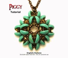 This tutorial explains you how to realize Piggy pendant in a very simple and intuitive way.  Each step is illustrated with very detailed diagrams and