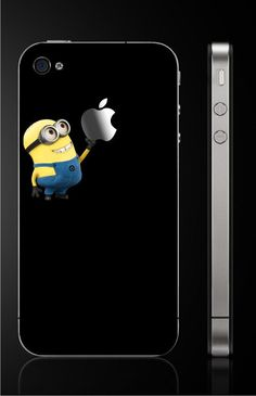 Despicable Me  -  iphone decal iphone4/4s decal iphone 5 decal on Etsy, $7.50
