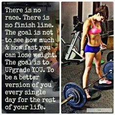There is No finish line.....