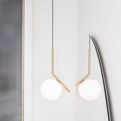 Buy online Ic lights By flos, brass pendant lamp design Michael Anastassiades, home collection - pendant Collection Suspended Lighting, Lighting Sale, Interior Lighting, Modern Lighting, Lighting Design, Pendant Lamp, Pendant Lighting, Brass Pendant, Light Pendant