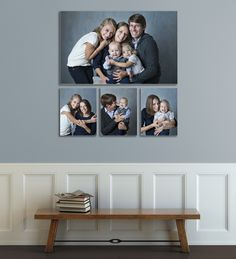 Our family business collection is your answer Hanging Family Photos, Family Pictures On Wall, Photo Wall Decor, Family Wall Decor, Picture Arrangements, Inspiration Wall, Frames On Wall, Picture Wall, Wall Design