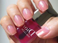 Clear Pink Nail Polish, Dior Nail Polish, Pink Nails, Dior Nail Glow, Glow Nails, Givenchy Beauty, Face Forward, Nail Bar, Best Face Products