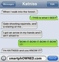 Katniss version of sexy and i know it