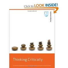 Critical thinking skills developing effective analysis and argument by ...