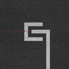 Nine Inch Nails: The Slip (2008) by Rob Sheridan, via Behance