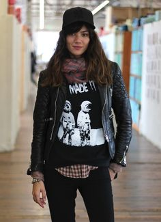Our models' off-duty style. http://blog.freepeople.com/2012/10/free-people-models-duty-2/