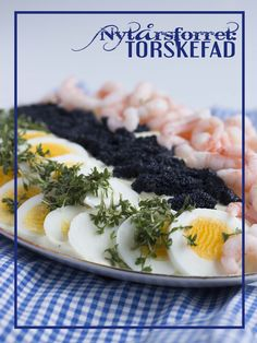 Nytårsforret: Torskefad Mousse, Danish Food, Cod, Cooking Tips, Seafood, Buffet, Recipies, Brunch, Appetizers