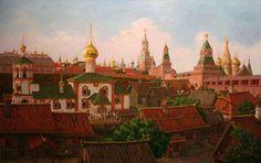 Сергей Глушков, «Подол Московского Кремля в XVII веке», 2008 г.