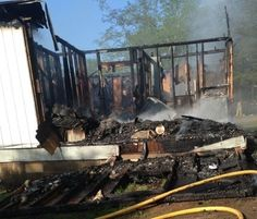A Sebastian County woman lost her home to a fire early Wednesday.