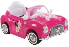Disney Minnie Girls' Battery-Powered Electric Ride-On by Huffy Little Girl Toys, Toys For Girls, Kids Toys, Minnie Mouse Toys, Car Accessories For Guys, Ride On Toys, Kids Bike, Disney Toys, Mobility Scooters