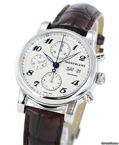 2ab1f0cc34d Montblanc Star Chronograph Automatic 106466 Men s Brown... for  2