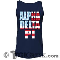 TGI Greek - Alpha Delta Pi - America Tank