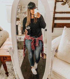 Plus Size Winter Outfits, Plus Size Fall Outfit, Casual Fall Outfits, Fall Winter Outfits, Plus Size Outfits, Curvy Girl Outfits, Curvy Girl Fashion, Mom Outfits, Fashion Outfits