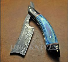 Buying my first straight razor--question about damascus steel and ...