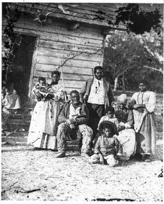 Reconstruction: Several generations of a family, South Carolina, 1862.