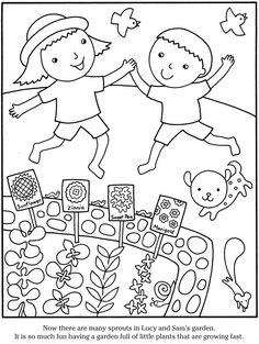 Color Garden FLOWERS Dover Publications Kids ColouringColoring