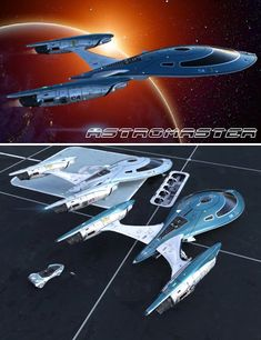 Astromaster is a transport, Sci-Fi/futuristic, space transport for Daz Studio or Poser created by Kibarreto. Spaceship Art, Spaceship Design, Starfleet Ships, Space Fighter, Flying Vehicles, Starship Concept, Space Engineers, Sci Fi Spaceships, Concept Ships